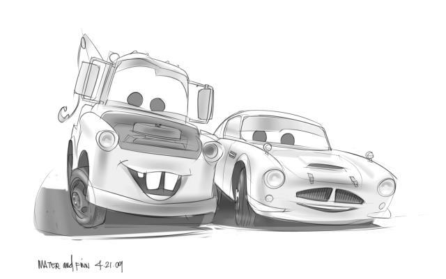 File:Cars 2 - conceptart finn mcmissile 4.jpg - Pixar Wiki - Disney Pixar Animation Studios