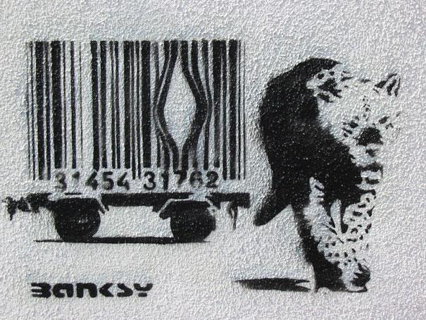 80+ Beautiful Street Crimes done by BANKSY | Bored Panda
