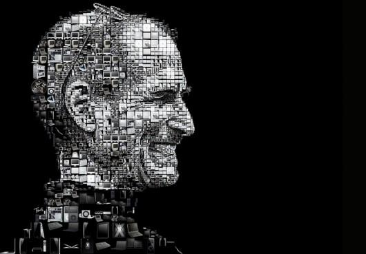 Piccsy :: Happy birthday Steve Jobs! (A mosaic portrait for the Los Angeles Times)