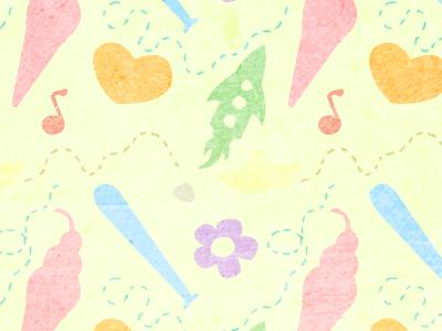 Kids Pattern by Xochitl Castaño