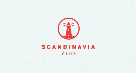 SCANDINAVIA CLUB. Illustrations on