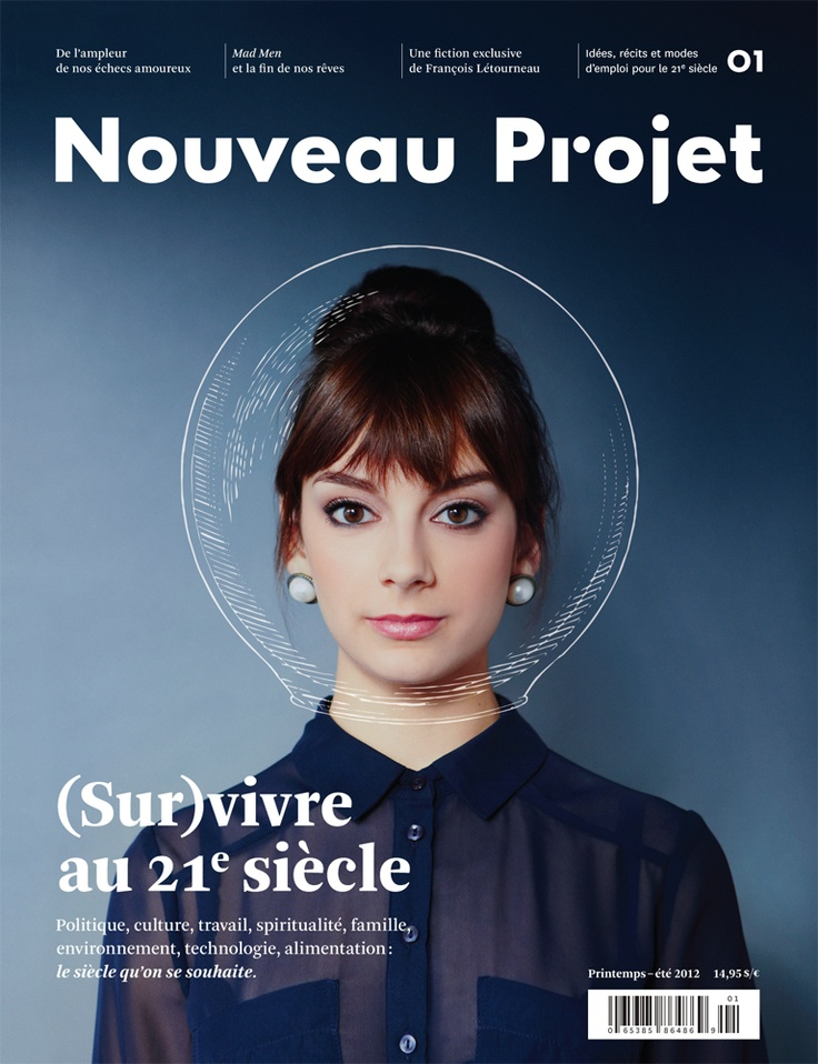Nouveau Projet – live in the 21st century Magazine Covers on Inspirationde