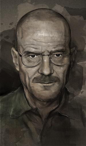 Walter White Heisenberg by rossdamman on Etsy