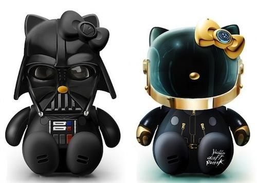 'Hello Kitty' as Darth Vader, Batman, Lady Gaga And More.. - DesignTAXI.com