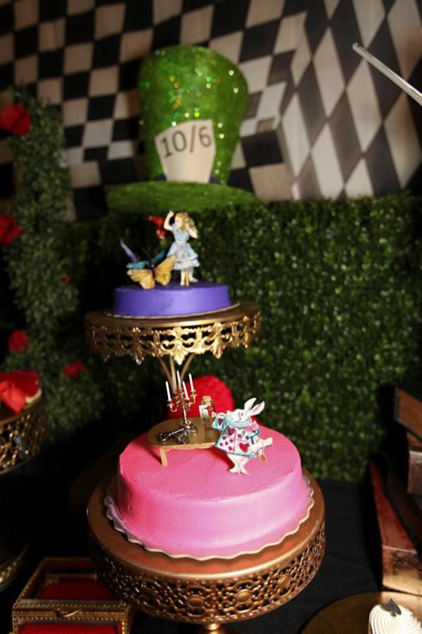 Midnight Alice In Wonderland 30th Un Birthday Party Planning Ideas