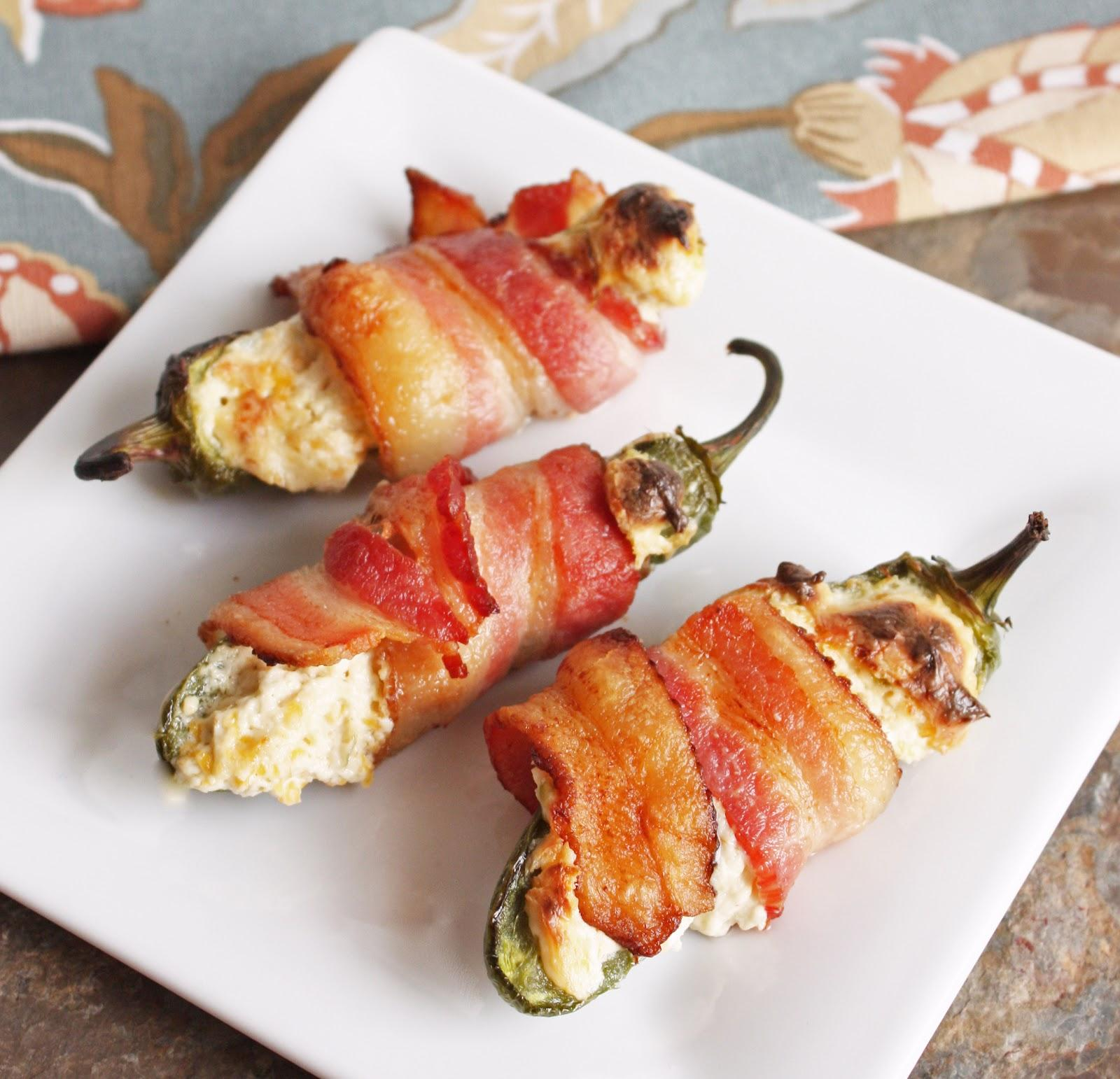 I Breathe...I'm Hungry...: Bacon Wrapped Stuffed Jalapenos