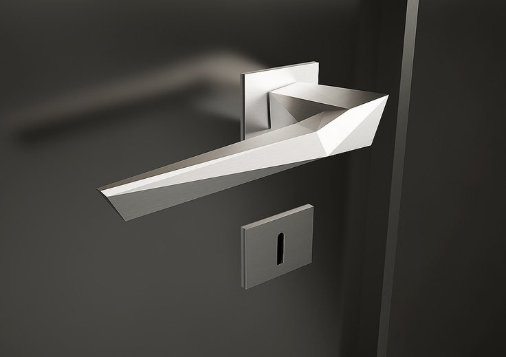 Origami Door Handle Studioforma Product Design