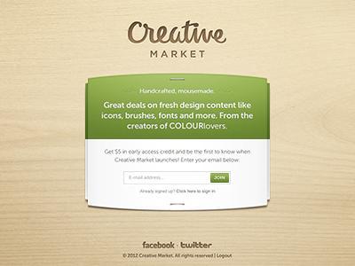 Creative Market by Shaun Moynihan