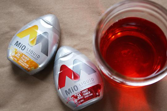 Product Review: MiO Liquid Water Enhancer | The Kitchn