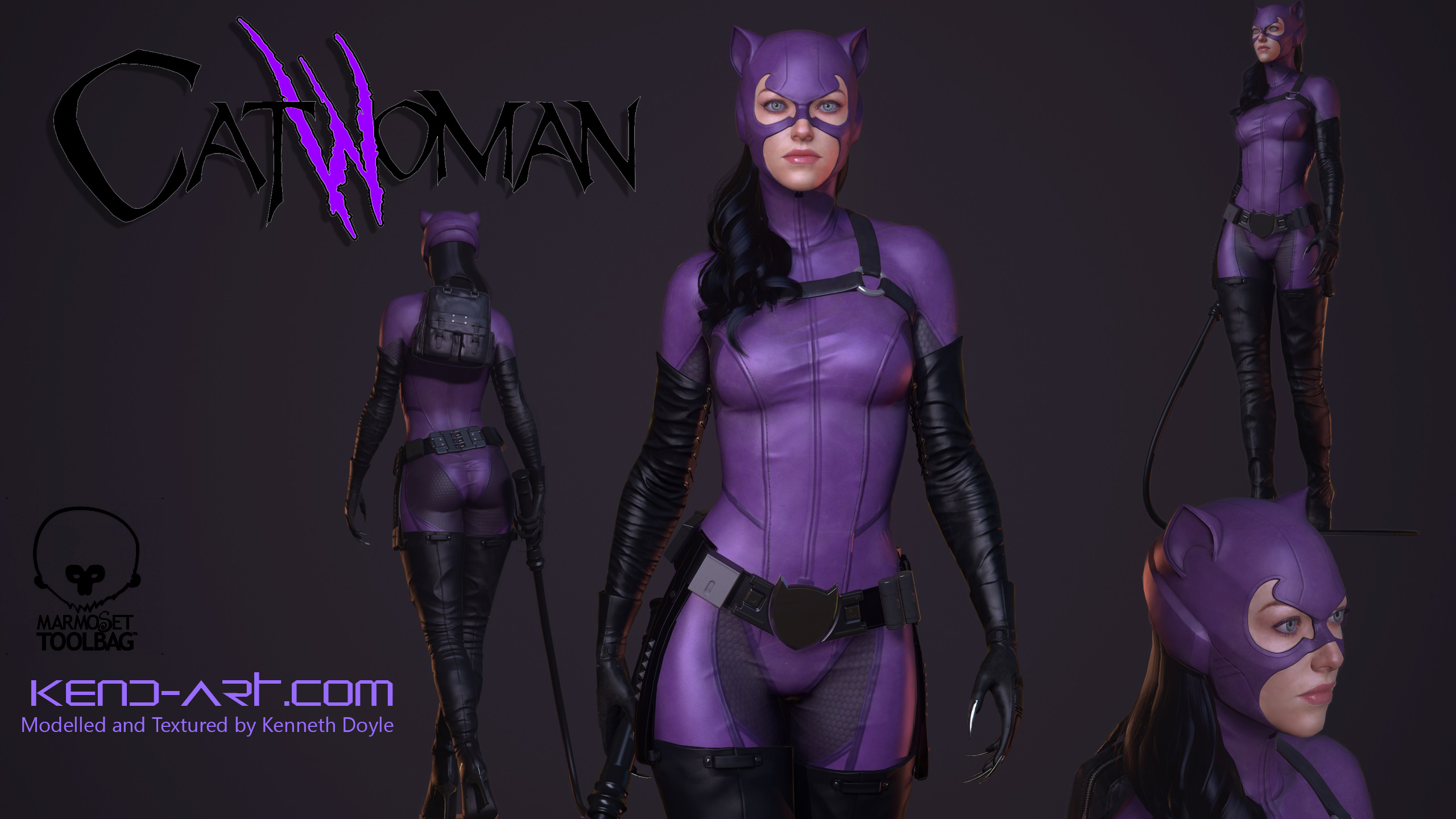 Catwoman 3d naked gallery