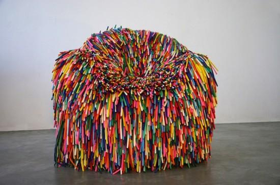 Happy Material Chairs | Fubiz™