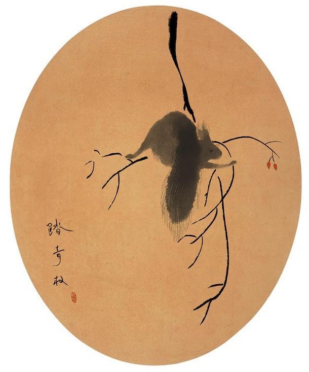 chinese ink painting from beijing-based illustrator MR.BIRD /// NeochaEDGE ///