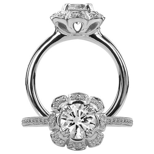 Floral Rings | Diamond Engagement Ring | Ritani.com