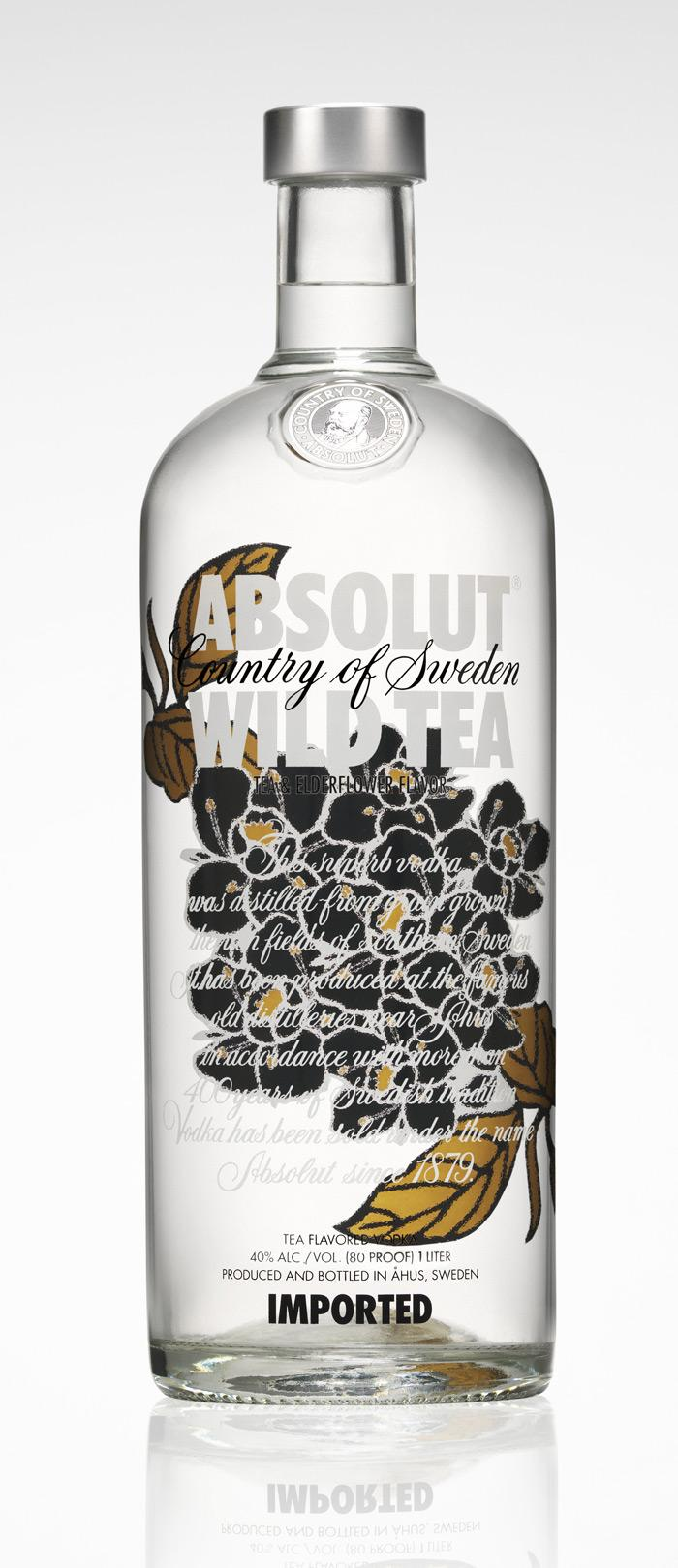 ABSOLUT Wild TEA - The Dieline: The World's #1 Package Design Website -