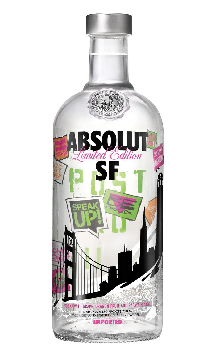 ABSOLUT SF - The Dieline: The World's #1 Package Design Website -