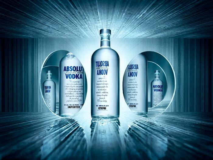 Absolut Vodka Illusion Edition - The Dieline: The World's #1 Package Design Website -