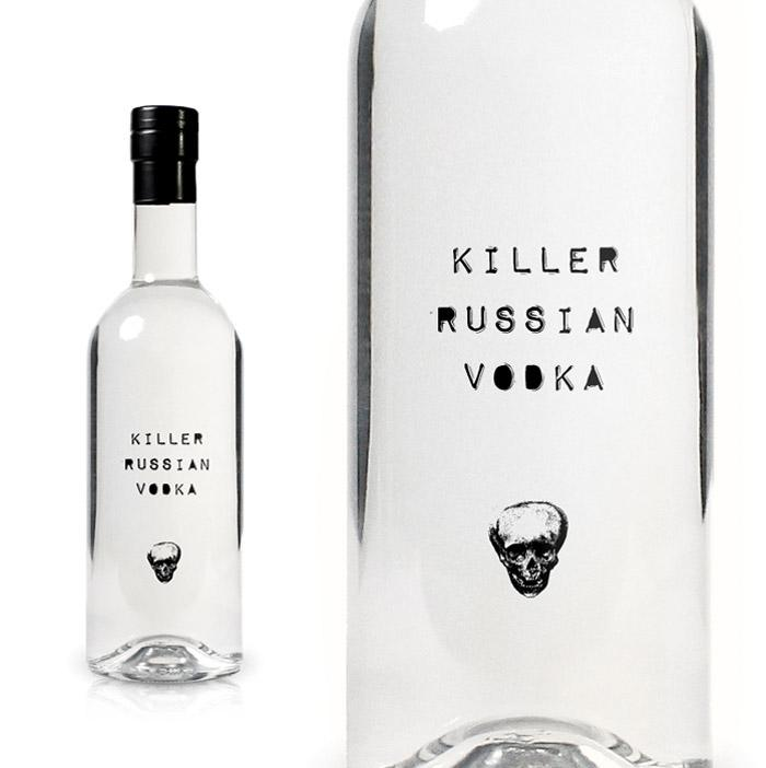 Killer Russian Vodka - The Dieline: The World's #1 Package Design Website -