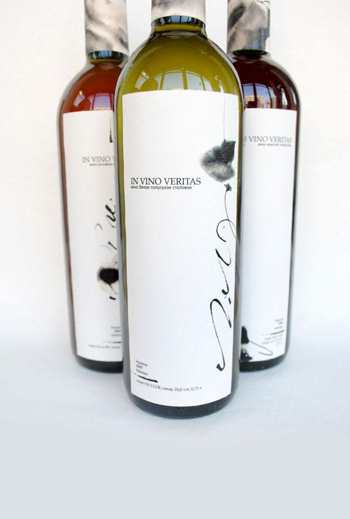 Student Spotlight : In Vino Veritas - The Dieline: The World's #1 Package Design Website -