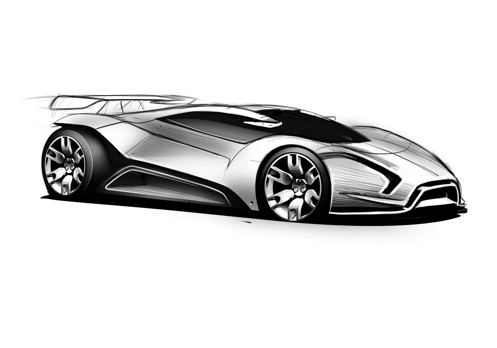 Ferrari Concept Design Sketch Car Body Design On Wookmark