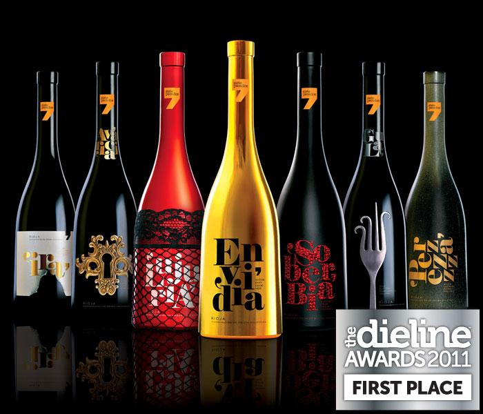 The Dieline Awards 2011: First Place - Siete Pecados: Seven Deadly Sins - The Dieline: The World's #1 Package Design Website -