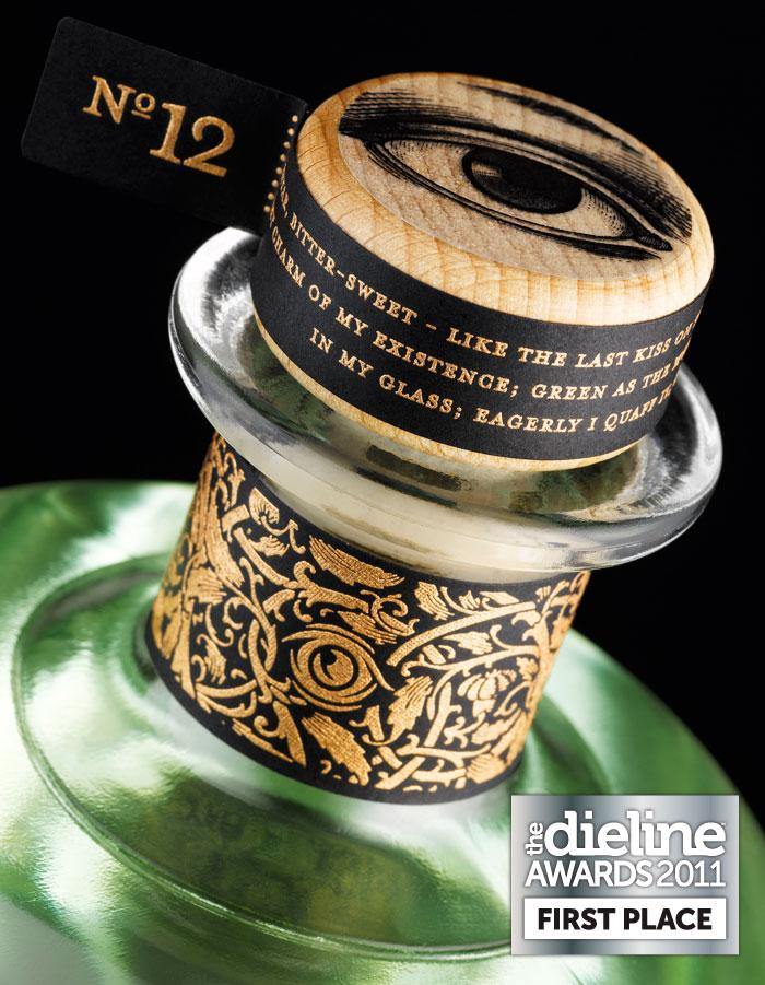The Dieline Awards 2011: First Place - Christmas Absinthe 2010 - The Dieline: The World's #1 Package Design Website -