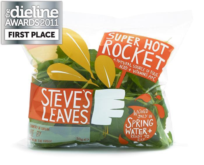 The Dieline Awards 2011: First Place - Steve's Leaves - The Dieline: The World's #1 Package Design Website -
