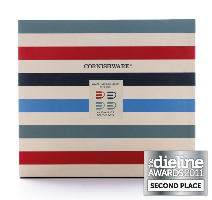 The Dieline Awards 2011: Second Place - Cornishware Boys & Girls MugSets - The Dieline: The World's #1 Package Design Website -