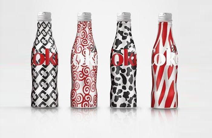Diane Von Fürstenberg for DietCoke - The Dieline: The World's #1 Package Design Website -