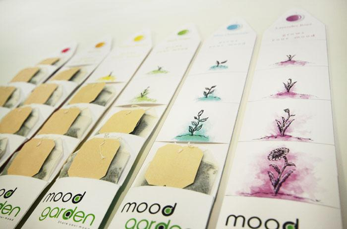 Mood Garden Tea - The Dieline: The World's #1 Package Design Website -