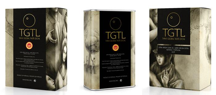 TGTL Premium Olive Oils - The Dieline: The World's #1 Package Design Website -