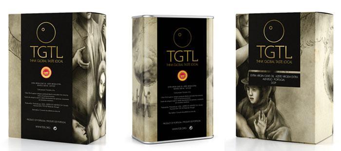 TGTL Premium OliveOils - The Dieline: The World's #1 Package Design Website -