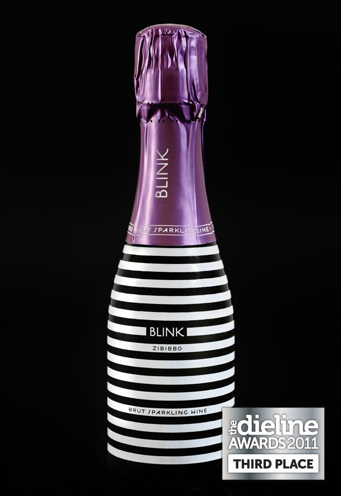 The Dieline Awards 2011: Third Place - Blink Champagne - The Dieline: The World's #1 Package Design Website -