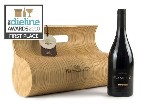 The Dieline Awards: First Place - Wine, Beer, & Tobacco - Wine Gift Box - The Dieline: The World's #1 Package Design Website -