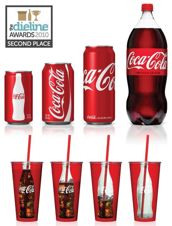 The Dieline Awards: Second Place - Beverage - Coca-Cola Identity - The Dieline: The World's #1 Package Design Website -