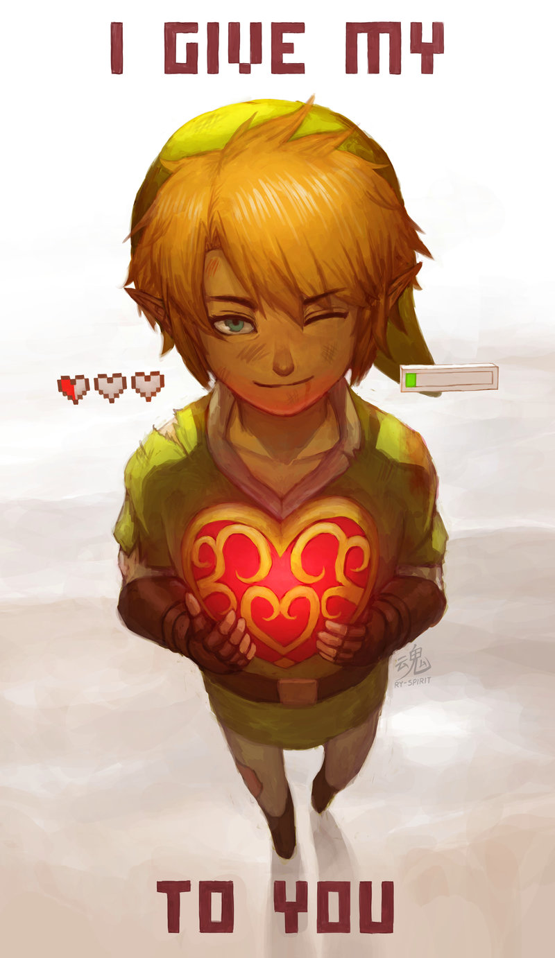 I GIVE MY HEART TO YOU by Ry-Spirit on DeviantArt