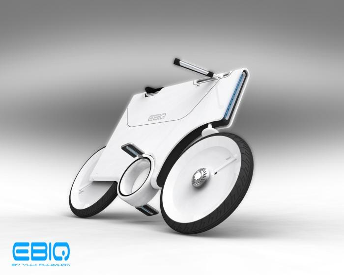 Electric Bike Concept ver2 by Yuji Fujimura at Coroflot