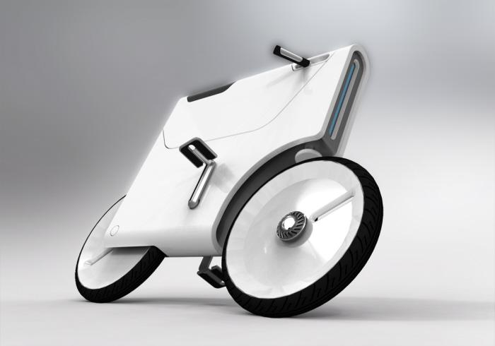 Electric Bike Concept ver1 (ver2 is next page) by Yuji Fujimura at Coroflot