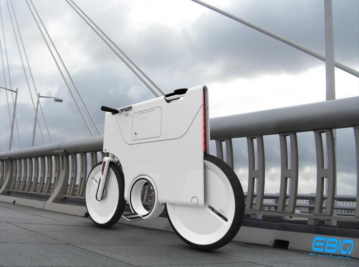 Electric Bike Concept ver2 by Yuji Fujimura at Coroflot