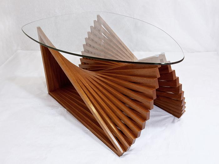 Fan Table by Justin Richards at Coroflot