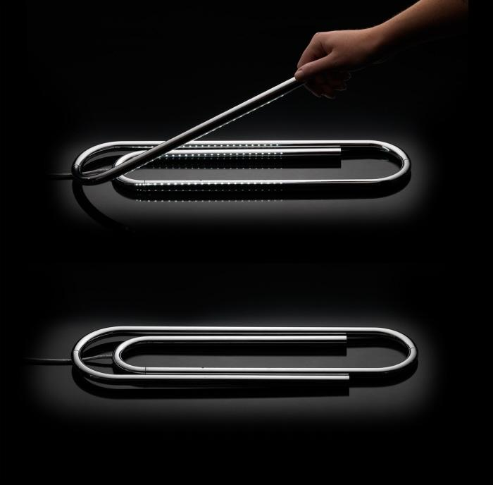 The Paperclip Lamp by Ben COLLETTE at Coroflot
