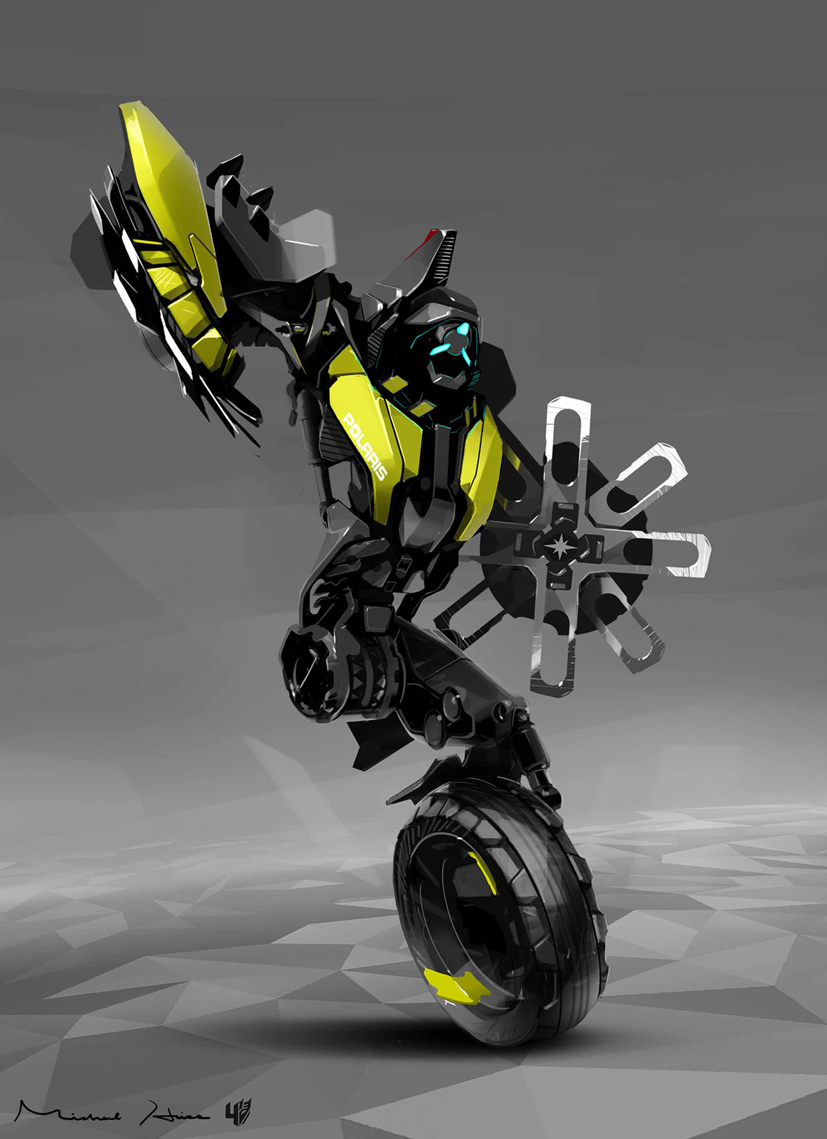 Transformers: Age of Extinction Concept Art from Michael Hritz