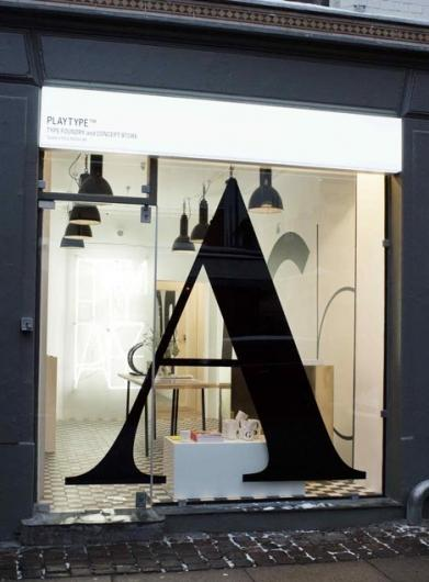 Designspiration — advertlab at Computerlove - Typography Concept Store