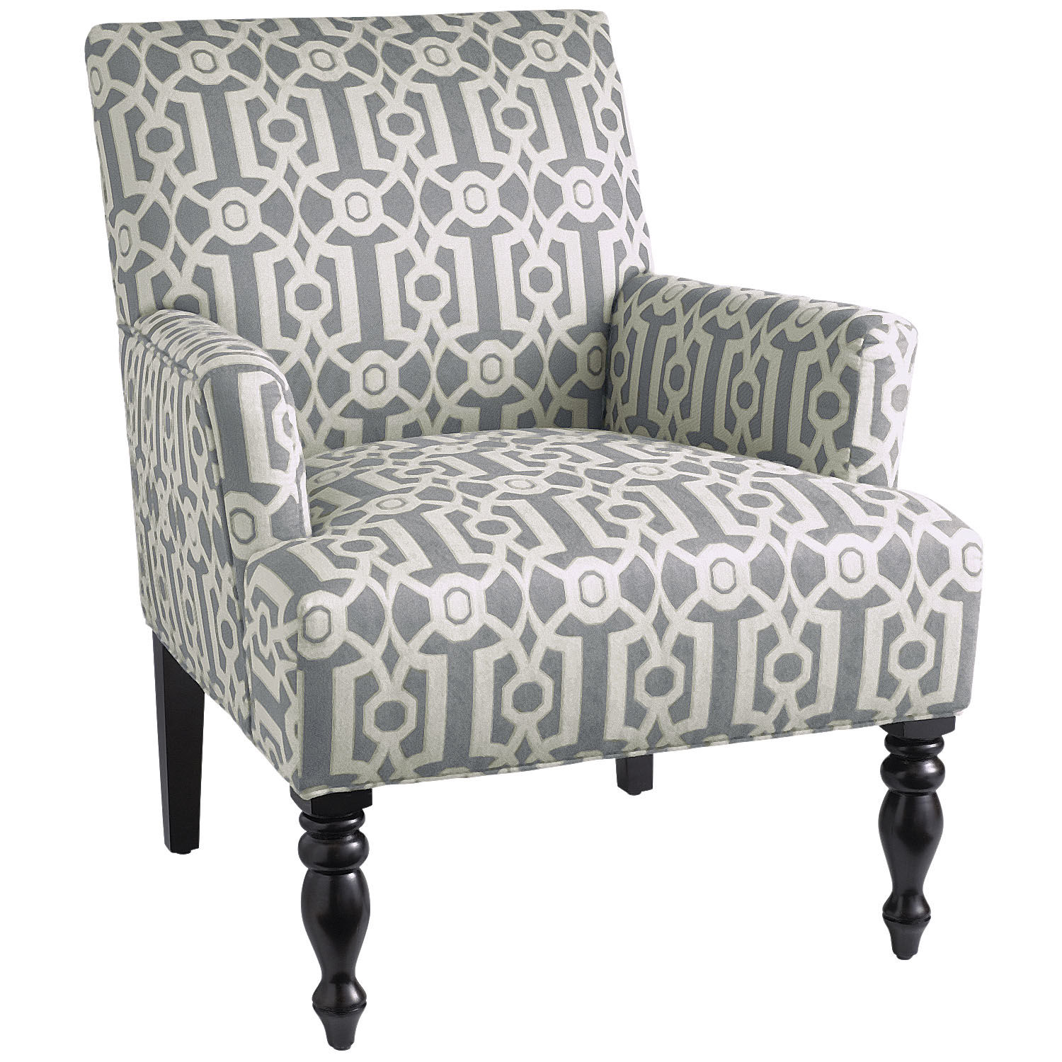 Liliana Armchair - Teal Ironwork