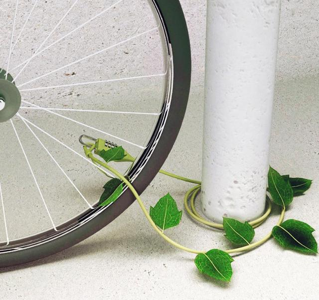 Fancy - Ivy Bike Lock by Sono Mocci