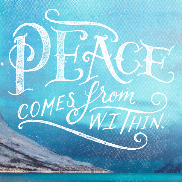 12 Charming Hand Lettered Quotes by Neil Tony Porter | inspirationfeed.com