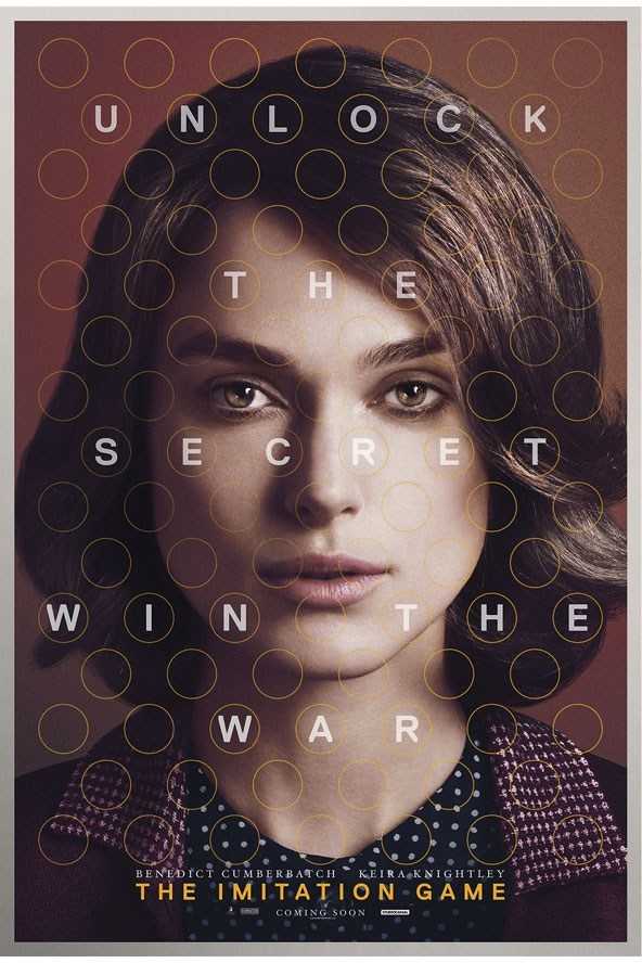 Poster / FIRST LOOK: Keira Knightley The Imitation Game poster exclusive