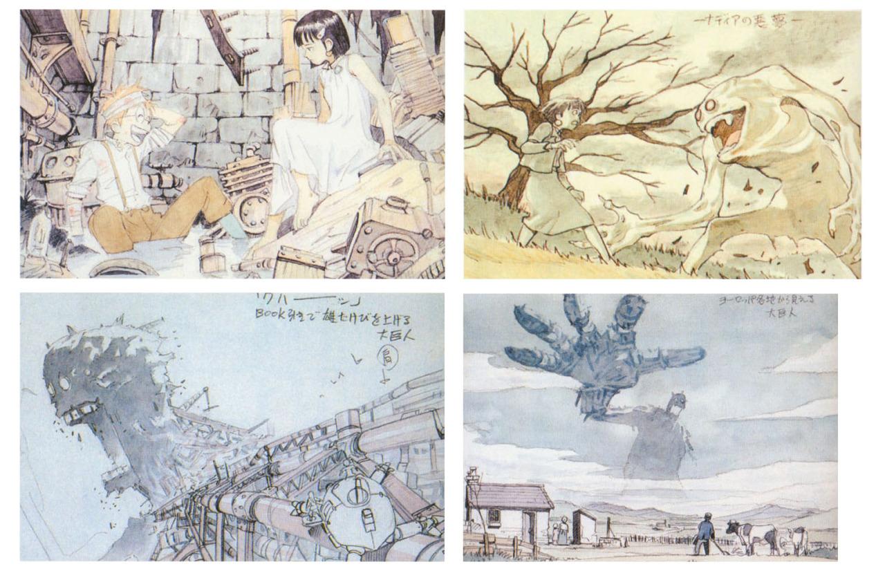 ca-tsuka: Unused image-boards for Fushigi no umi... - CONCEPT ART BLOG