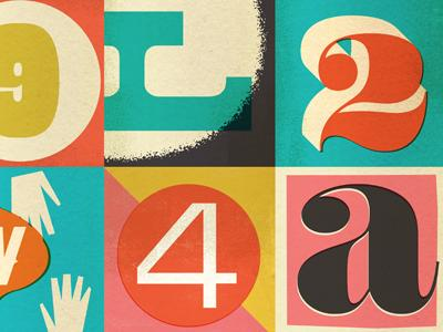 Dribbble - letters n stuff by Dustin Wallace