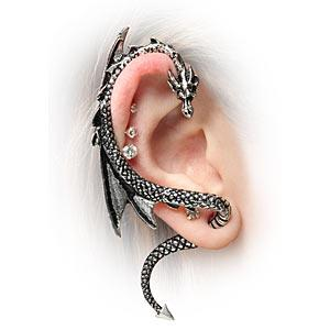 ThinkGeek :: Dragon Ear Wrap