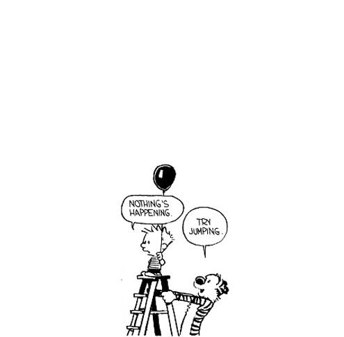 this isn't happiness™ (Calvin and Hobbes), Peteski